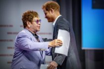Photo of Prince Harry and Elton John