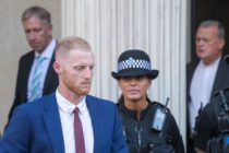 BRISTOL, ENGLAND - AUGUST 06: England Cricketer Ben Stokes leaves Bristol Crown Court on August 6, 2018 in Bristol, England. Ben Stokes, 27, Ryan Ali, 28 and Ryan Hale, 27, are jointly charged with affray outside a Bristol night club on September 25 last year. (Photo by Matt Cardy/Getty Images)