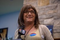 Christine Hallquist lost her bid to become Governor of Vermont