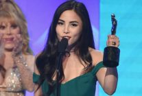 BEVERLY HILLS, CA - OCTOBER 22: Anna Akana accepts the Acting in a Drama award for 'Youth & Consequences' onstage during The 8th Annual Streamy Awards at The Beverly Hilton Hotel on October 22, 2018 in Beverly Hills, California. (Photo by Kevin Winter/Getty Images for Streamy Awards)