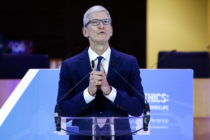 Tim Cook came out as gay in 2014.