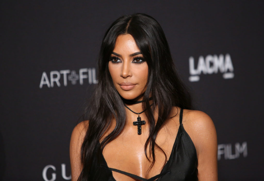 Photo of Kim Kardashian, who has been accused of homophobia