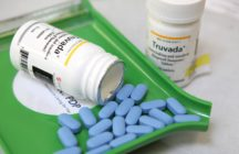 Bottles of antiretroviral drug Truvada are displayed at Jack's Pharmacy on November 23, 2010 in San Anselmo, California.