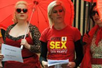 Sex worker demonstration in Australia
