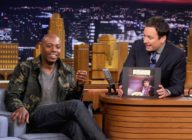 "Dave Chappelle Visits ""The Tonight Show Starring Jimmy Fallon"" getty"
