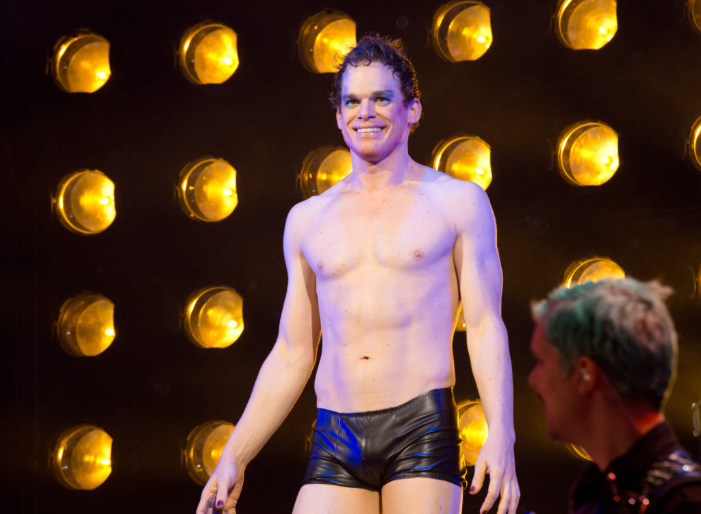 Dexter star Michael C Hall in Hedwig and The Angry Inch