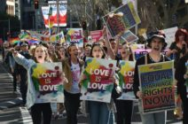 Same-sex marriage rally in Sydney