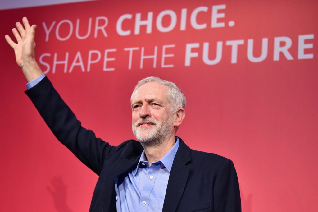 Jeremy Corbyn (Photo by Jeff J Mitchell/Getty Images)