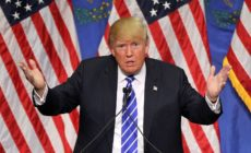 Donald Trump Holds Campaign Rally In Las Vegas