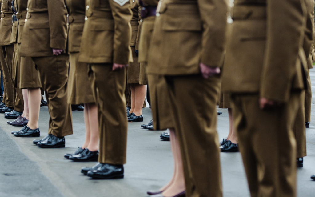 Armed Forces Bill with pardon soldiers and marines for gay sex offences