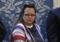 Kim Davis loses re-election as Rowan County clerk in Kentucky.
