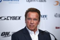 Schwarzenegger speaks at the Arnold Classic Sports Festival