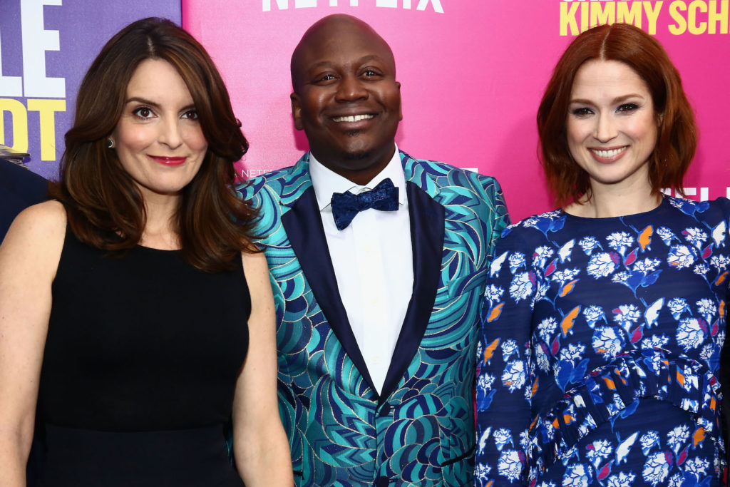 Tina Fey and stars of Kimmy Schmidt