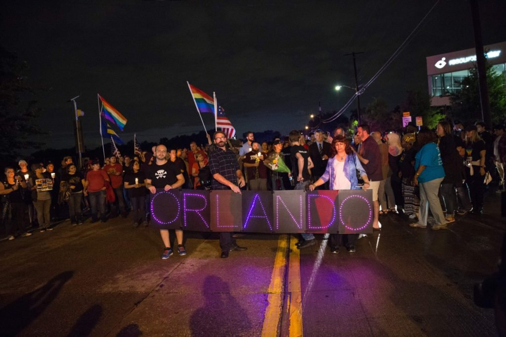 Pulse nightclub massacre in Orlando, Florida