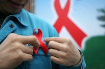 Red ribbon for World Aids Day 2018