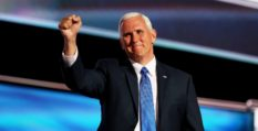 Mike Pence 'solidifying his base' at anti-LGBT event ahead of 2024 election