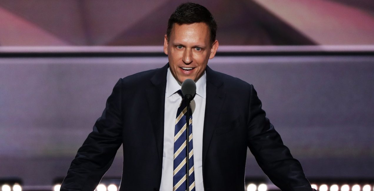 Trump Peter Thiel