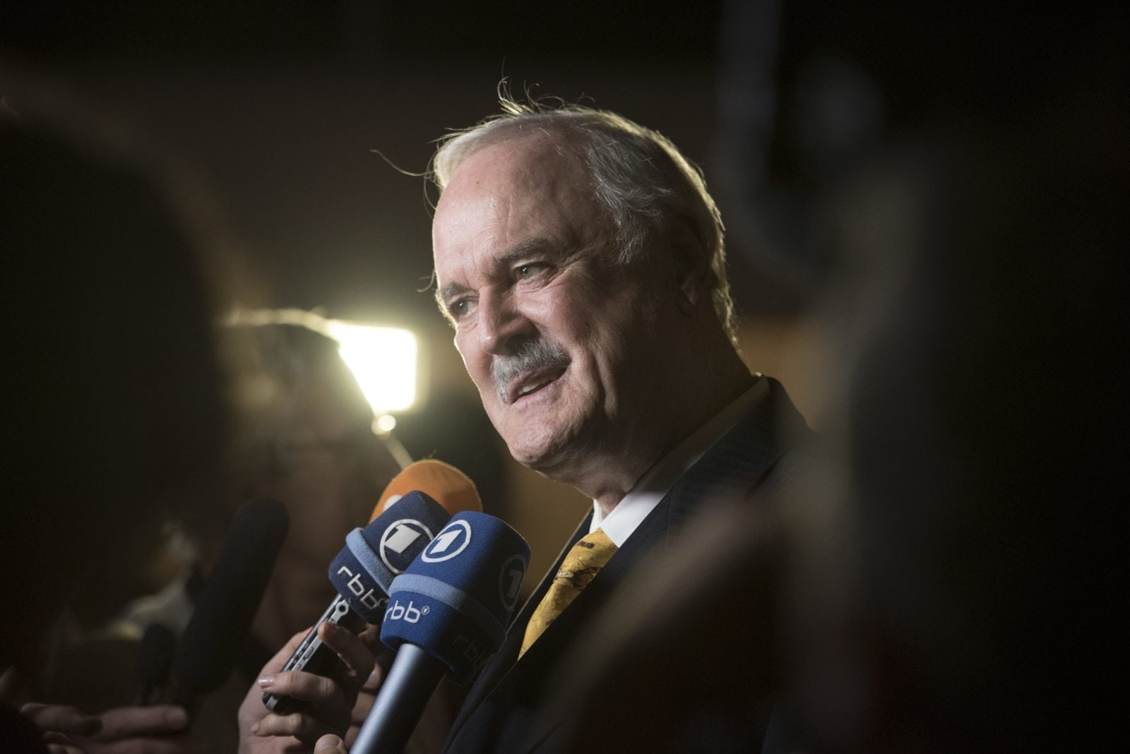 BERLIN, GERMANY - SEPTEMBER 13: John Cleese attends the 55th Rose d'Or Award at Axica-Kongress- und Tagungszentrum on September 13, 2016 in Berlin, Germany. (Photo by Clemens Bilan/Getty Images)