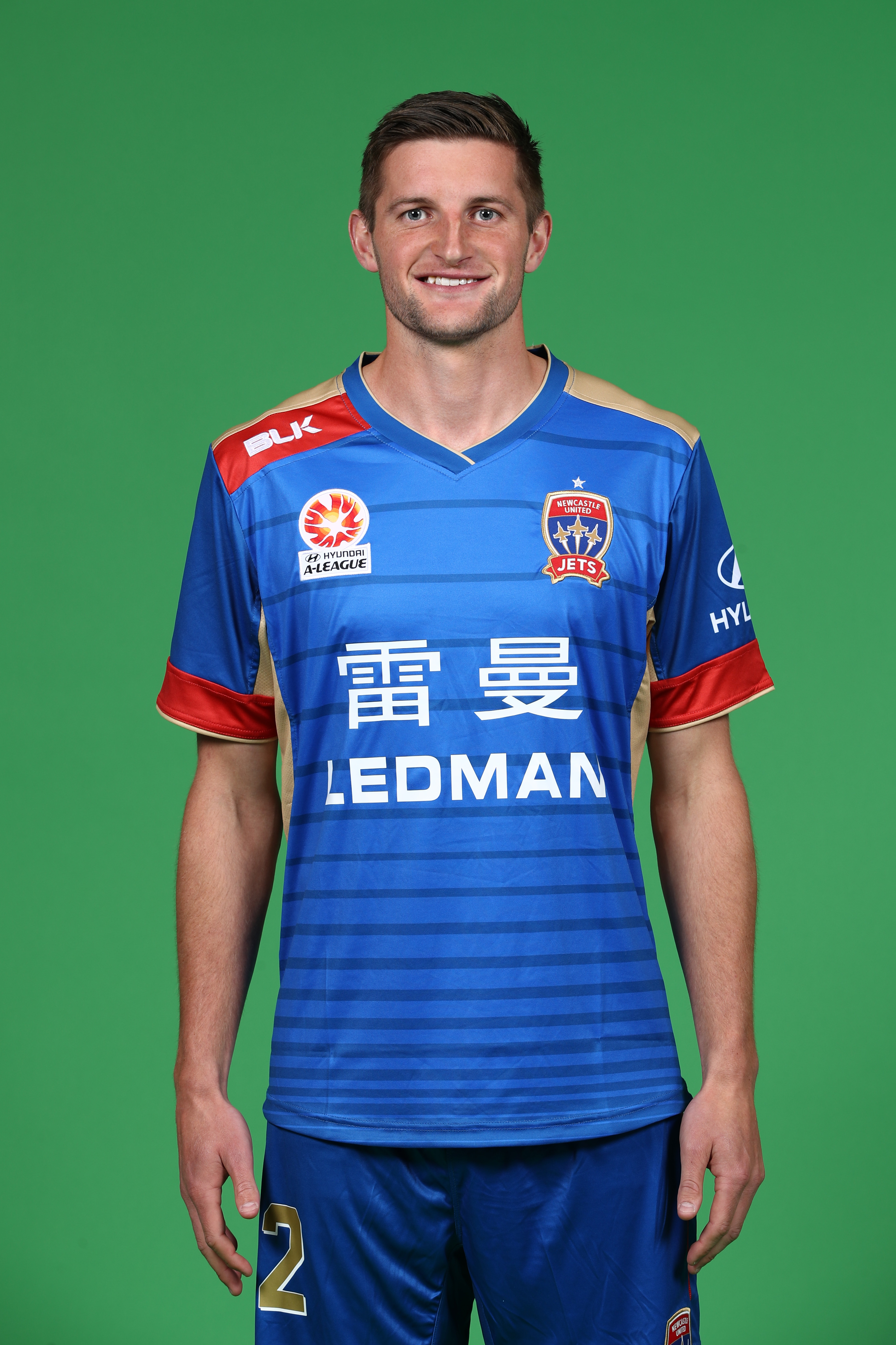 Australian Football player Andy Brennan, who has come out as gay on May 14.