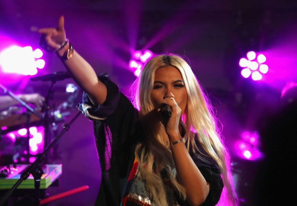 Singer-songwriter Hayley Kiyoko (Photo by Randy Shropshire/Getty Images for MTV)