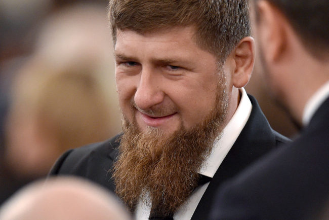 Ramzan Kadyrov, leader of Chechnya