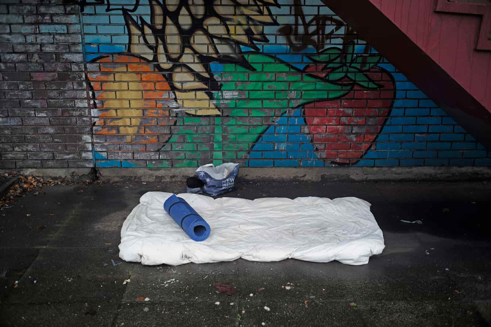 homeless LGBT youth more likely to be involved in sex trafficking (Photo by Christopher Furlong/Getty Images)