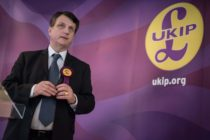 UKIP (UK Independence Party) Brexit spokesman and Member of the European Parliament for London (MEP), Gerard Batten, addresses members of the media at the party's by-election campaign headquarters in Stoke-on-Trent, central England on February 13, 2017. UKIP Leader Paul Nuttall is standing as the party's canditate in the forthcoming by-election for the seat of Stoke-on-Trent Central, which has been held by the Labour Party since 1950. / AFP / Oli SCARFF (Photo credit should read OLI SCARFF/AFP/Getty Images)