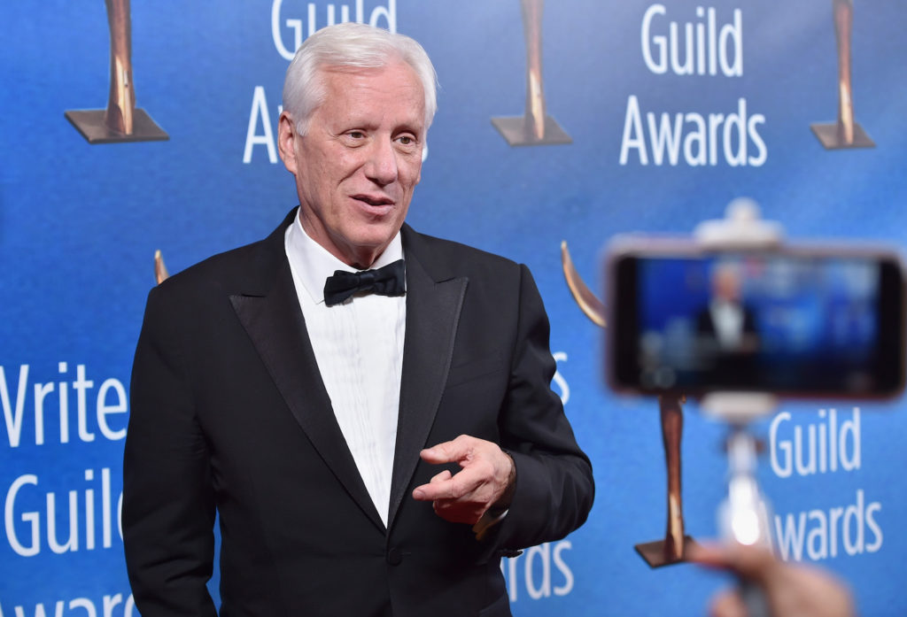 BEVERLY HILLS, CA - FEBRUARY 19: Actor James Woods attends the 2017 Writers Guild Awards L.A. Ceremony at The Beverly Hilton Hotel on February 19, 2017 in Beverly Hills, California. (Photo by Alberto E. Rodriguez/Getty Images for WGAw)