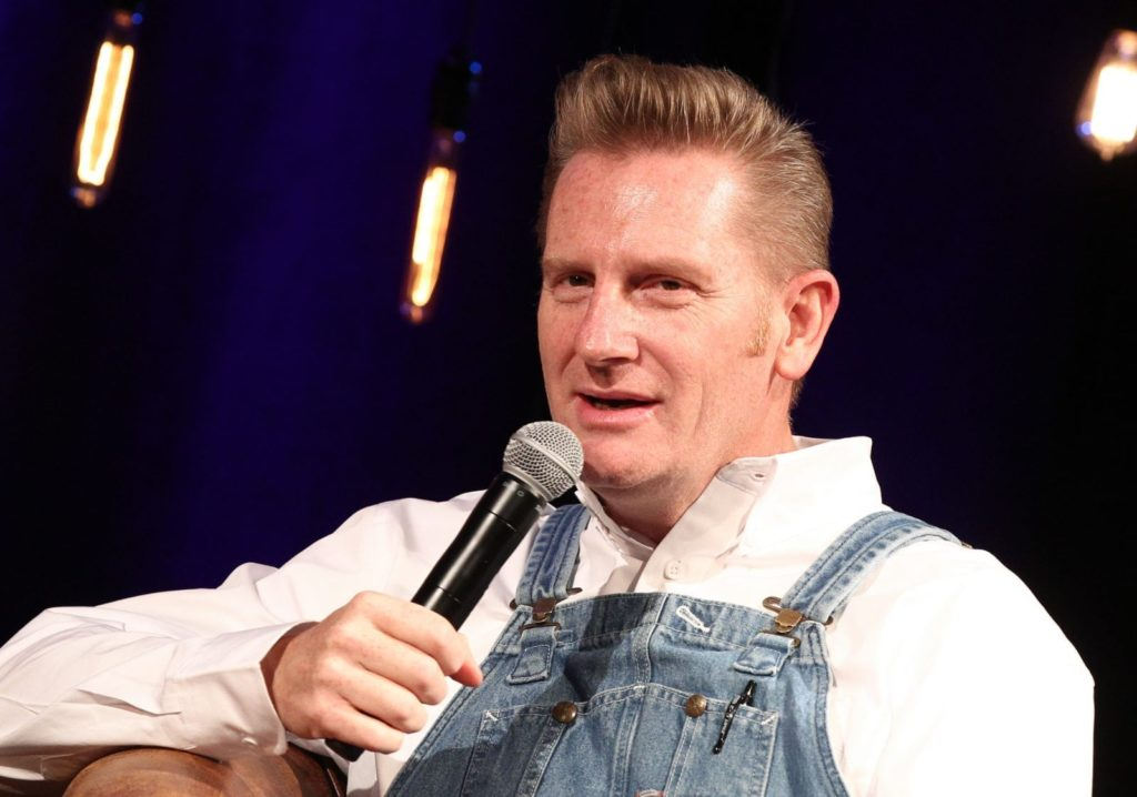 NASHVILLE, TN - MARCH 11: Singer-songwriter Rory Feek discusses his career and new book 'This Life I Live' at Country Music Hall of Fame and Museum on March 11, 2017 in Nashville, Tennessee. (Photo by Terry Wyatt/Getty Images for Country Music Hall of Fame and Museum)