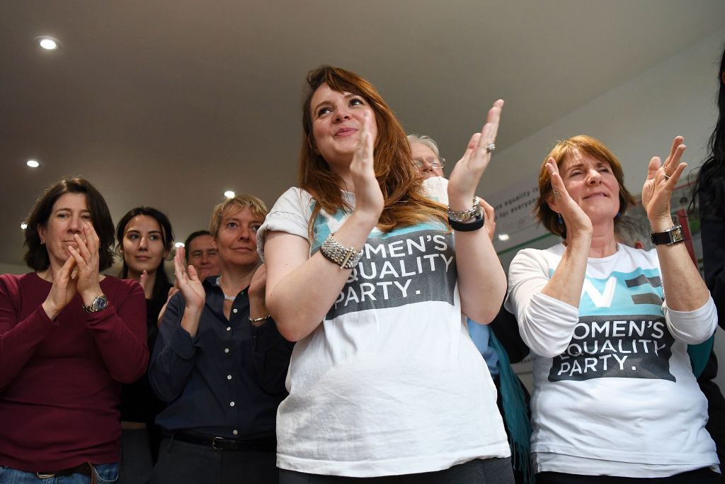 The Women's Equality Party Launch Their Election Manifesto 2017