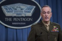 Chairman of the Joint Chiefs of Staff Marine General Joseph Dunford getty