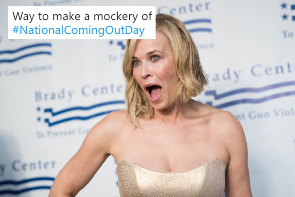 LOS ANGELES, CA - JUNE 07: Comedian Chelsea Handler attends the Brady Center's Bear Awards Gala at NeueHouse Hollywood on June 7, 2017 in Los Angeles, California. (Photo by Emma McIntyre/Getty Images)