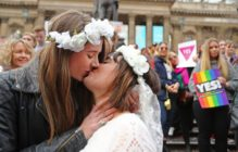 A mass-same-sex wedding in Australia