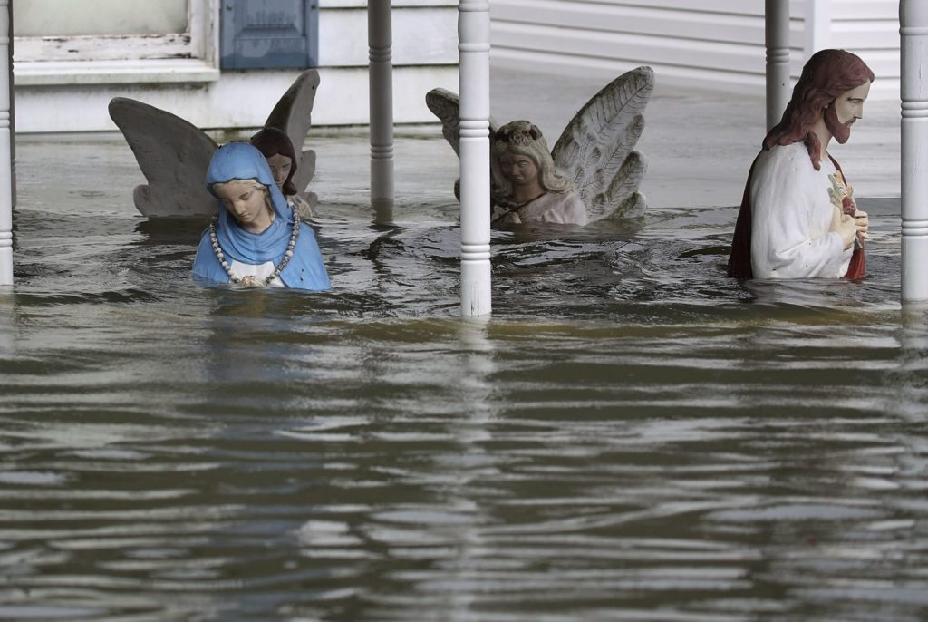 Flooding in Texas after Hurricane Harvey
