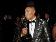 Lena Waithe with her Emmy