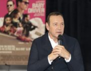 LOS ANGELES, CA - OCTOBER 04: Actor/producer Kevin Spacey speaks on stage at the Cars, Arts & Beats: A Night Out With 'Baby Driver' event at the Petersen Automotive Museum on October 4, 2017 in Los Angeles, California. (Photo by Rochelle Brodin/Getty Images for Sony Pictures Home Entertainment)