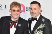 NEW YORK, NY - NOVEMBER 07: Sir Elton John and David Furnish attend the Elton John AIDS Foundation Commemorates Its 25th Year And Honors Founder Sir Elton John During New York Fall Gala at Cathedral of St. John the Divine on November 7, 2017 in New York City. (Photo by Theo Wargo/Getty Images)