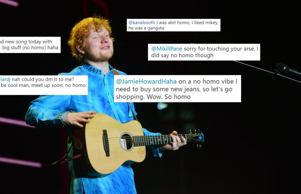 Exclusive: The 13 times Ed Sheeran tweeted that things were
