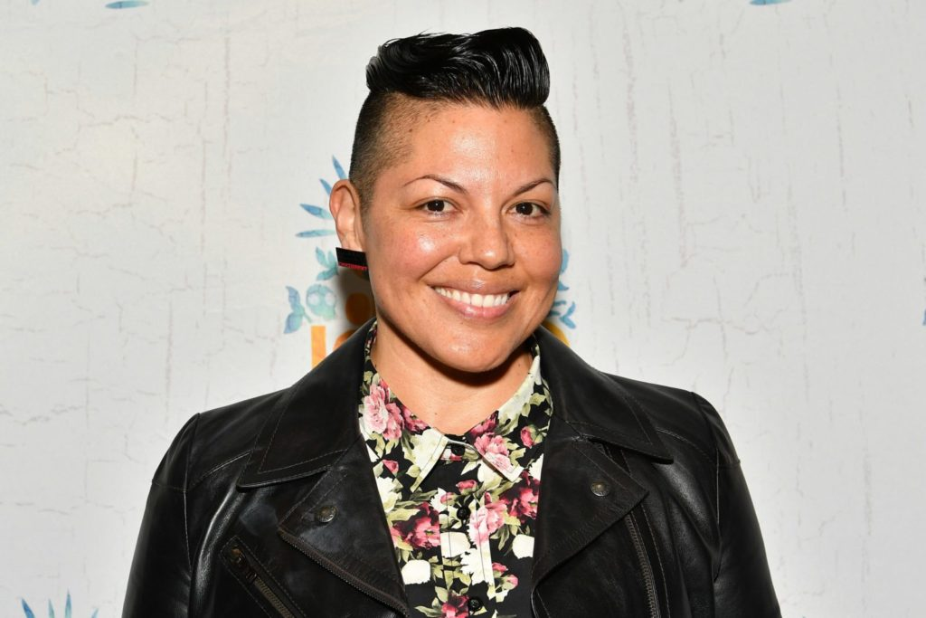 "NEW YORK, NY - DECEMBER 03: Sara Ramirez attends the ""Once On This Island"" Broadway Opening Night at Circle in the Square Theatre on December 3, 2017 in New York City. (Photo by Dia Dipasupil/Getty Images)"