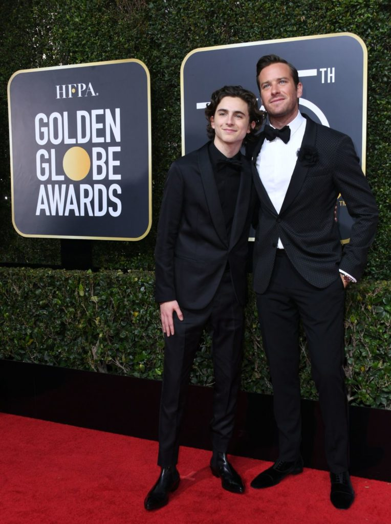Armie Hammer and Timothee