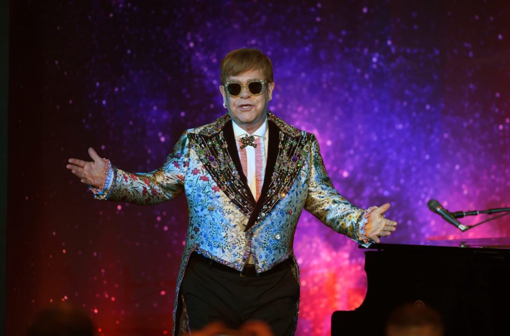 Sir Elton John unleashes foul-mouthed spray at HBF Park security guards
