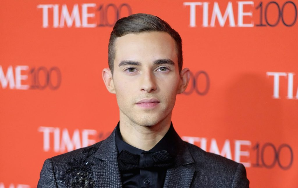 Olympian Adam Rippon attends the 2018 Time 100 Gala at Jazz at Lincoln Center on April 24, 2018 in New York City. (Dimitrios Kambouris/Getty Images for Time)