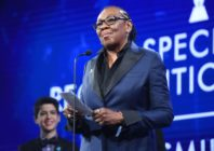 NEW YORK, NY - MAY 05: Gloria Carter accepts a Special Recognition Award onstage at the 29th Annual GLAAD Media Awards at The Hilton Midtown on May 5, 2018 in New York City. (Photo by J. Merritt/Getty Images for GLAAD)