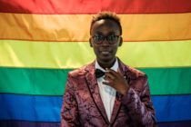 Yvonne Oduor, Gay and Lesbian Coalition of Kenya operations officer, poses after the UN GLOBE event celebrating first time on the International Day against Homophobia and Transphobia (IDAHOT), on May 17, 2018, at United Nations Office in Nairobi, Kenya. - UN GLOBE is a staff group representing lesbian, gay, bisexual, transgender, and inter-sex staff members of the UN and its peacekeeping operations. (Photo by Yasuyoshi CHIBA / AFP) (Photo credit should read YASUYOSHI CHIBA/AFP/Getty Images)