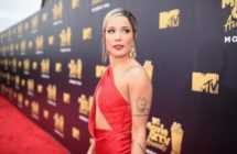 Halsey attends the 2018 MTV Movie And TV Awards on June 16, 2018 (Christopher Polk/Getty Images for MTV)