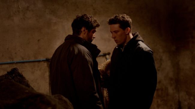 The two main characters of God's Own Country