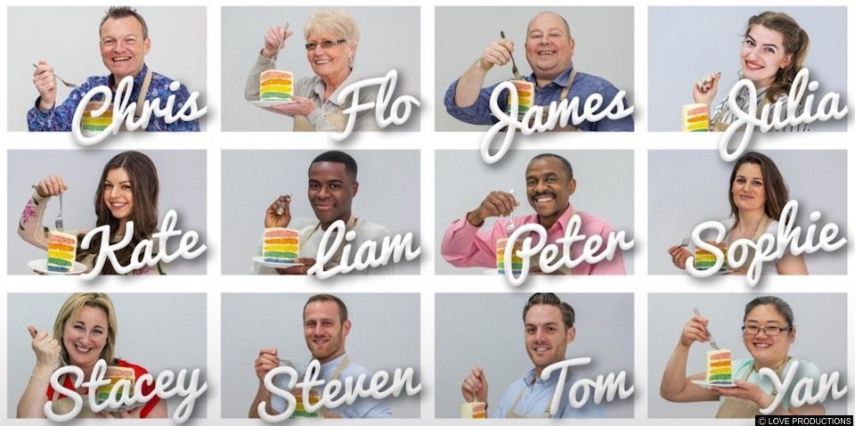 Great British Bake Off launches rainbow cake promo after ...