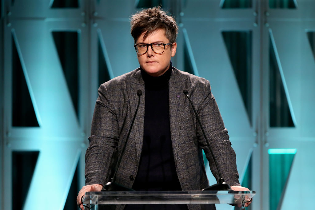 Hannah Gadsby, who opened up about being homeless when she was in her 20s