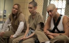 Sanks, Brandy and Helen in a shot from OITNB