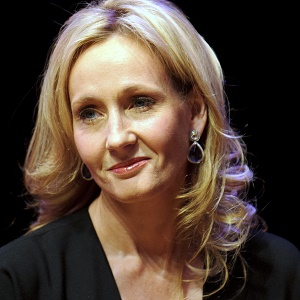 Author JK Rowling. (Ben Pruchnie/Getty Images)